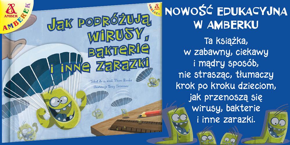 Książka miesiąca AMBERKA